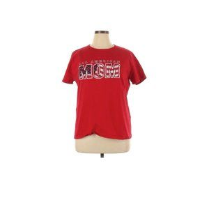 HANES Red All American Mom Flag T Shirt X Large